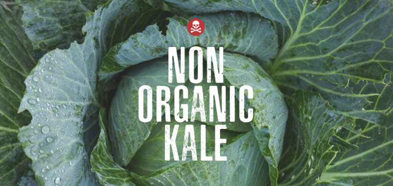 *KALE WARNING* Don't Buy The Non Organic Version