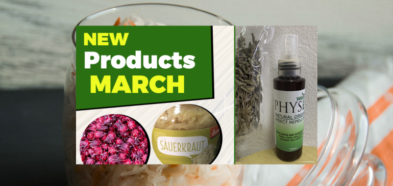 New Products March 2019