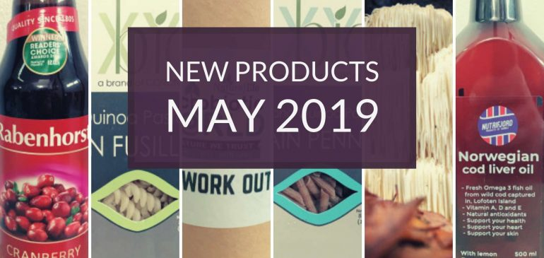 New Products May 2019